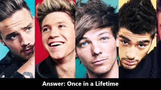 GUESS THE SONG l One Direction & solo artists songs