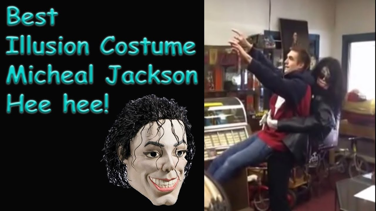 michael jackson illusion halloween costume being carried away - youtube