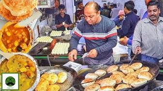 Desi Haryanvi Breakfast In Ambala Cantt | Veggiepaaji | Indian Street Food