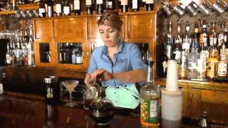 Olde Bryan Inn Jelly Bean Martini