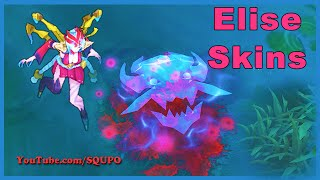 All Available Elise Skins (League of Legends)