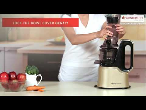 Wonderchef Cold Pressed Slow Juicer