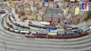 *EXTRA LARGE* H0 Model Railroad / Modellbahnanlage PMW-Winnenden, Germany, 18.12.2016.