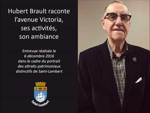 Hubert Brault raconte l'avenue Victoria,  ses activités,  son ambiance