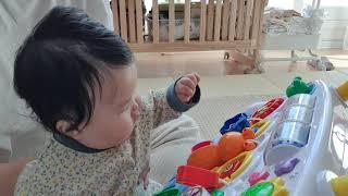 #에듀테이블#아기놀이타임 혼자서도 잘놀아요~~^^
