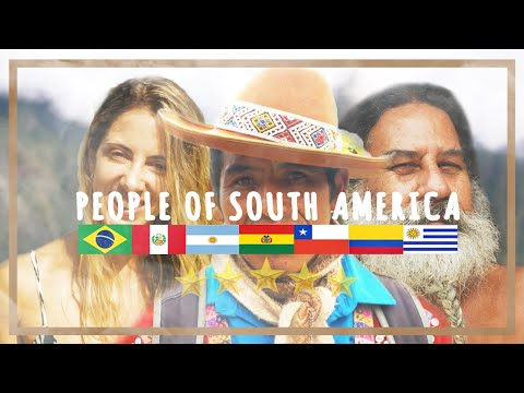 PEOPLE OF SOUTH AMERICA | 6 Months Travel Film