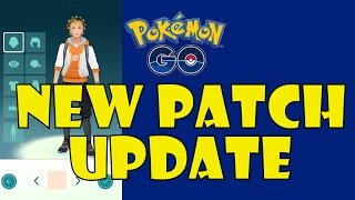 Pokemon Go | New Patch Update