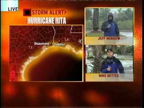 Hurricane Rita Coverage (9/23/05 - Morning) - The Weather Channel