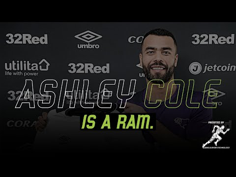 NEW SIGNING   Derby County Sign Ashley Cole