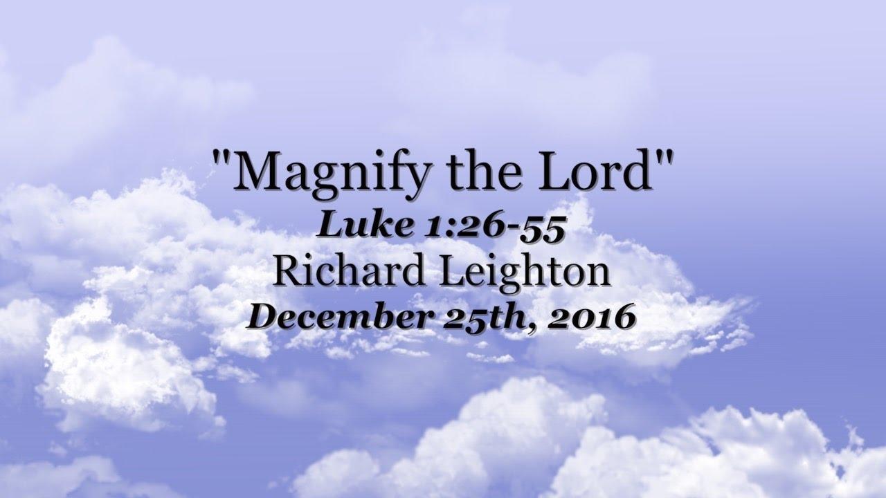 Luke 1:26-33 (ESV) 26 In the sixth month the angel Gabriel was ...