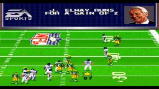 Madden NFL 98 SNES Gameplay HD