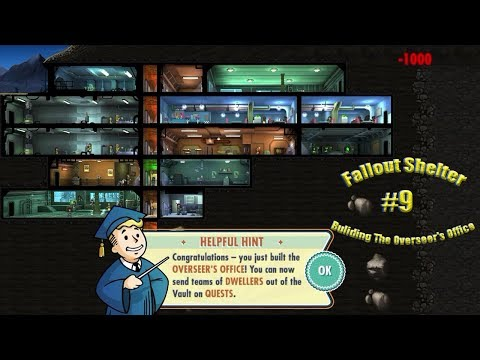 Fallout Shelter#9(Bulding The Overseer's Office)
