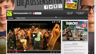 Top 3 Der meist Abonnierten Deutschen YouTube Kanäle [German] [Neu]