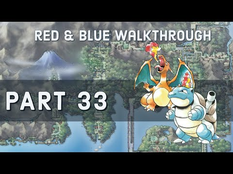 how to get through victory road pokemon red