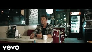 Shawn Mendes - Life Of The Party (Lyric Video)(