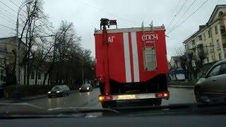 Уступи дорогу помощи МЧС ГИБДД Орёл