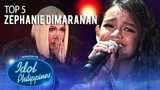 "Zephanie Dimaranan performs ""Lipad ng Pangarap"" 