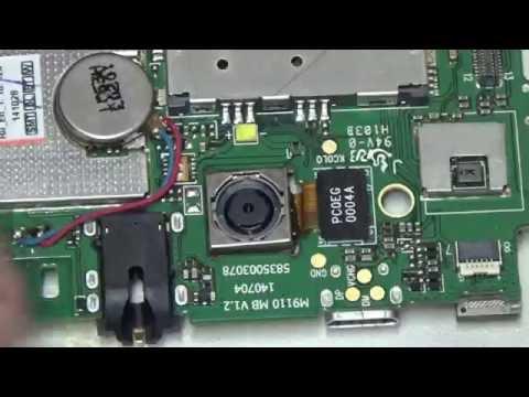 Ремонт разъёма сим карты телефона Fly IQ4417 Quad (Repair Connector Sim Card Phone Fly IQ4417 Quad)
