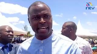 Kiharu MP Ndindi Nyoro speaks after protests in Mukangu