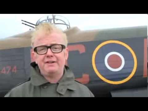 Chis Evans Lancaster bomber flight