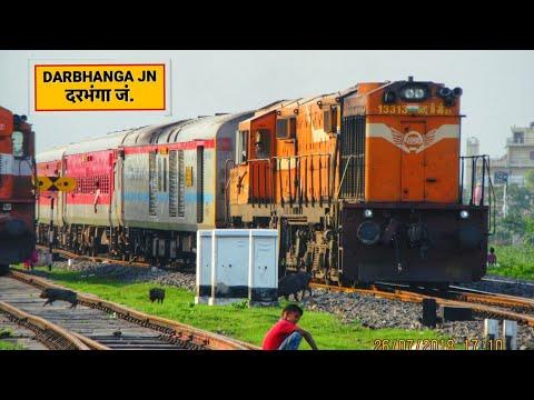 Katra-Kamakhya Express Arriving Darbhanga