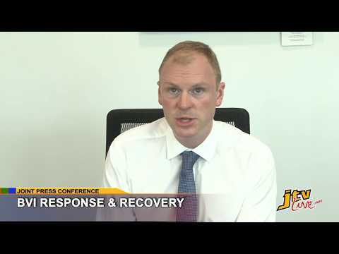 JOINT PRESS CONFERENCE   BVI RESPONSE AND RECOVERY   5TH OCTOBER 2017