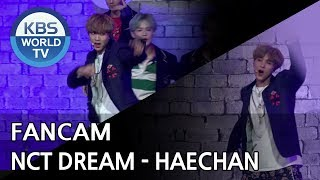 [FOCUSED] NCT Dream's HAECHAN - We Go Up [Music Bank / 2018.08.31]