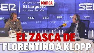 El genial zasca de Florentino Pérez a Klopp tras el criticar el
