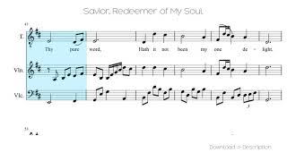 🎶 Savior, Redeemer Of My Soul 🎸🎸