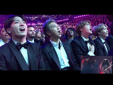 190211 방탄소년단 BTS reaction @Grammy Awards