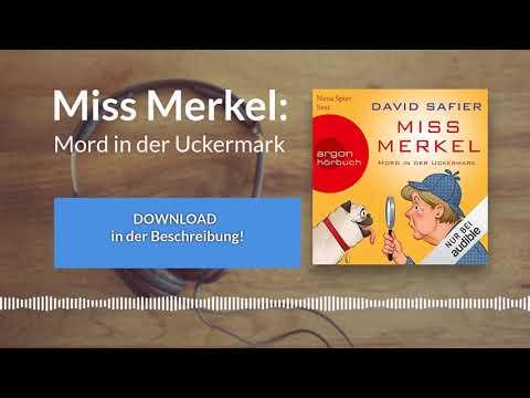 Miss Merkel YouTube Hörbuch Trailer auf Deutsch