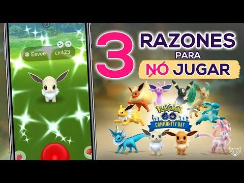 ✅ 3 RAZONES POR LAS QUE NO JUGAR EL COMMUNITY DAY DE EEVEE Y 3 POR LAS QUE SÍ - Pokémon GO [Neludia]