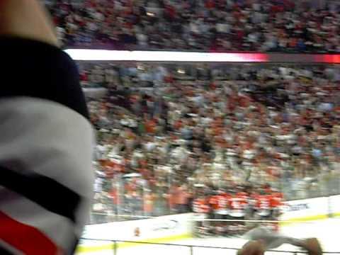 CHICAGO BLACKHAWKS OVERTIME WIN