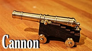 how to make cannon