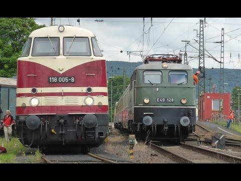 Ost trifft West | Sommerfest DB Museum Koblenz 2015 (HD)