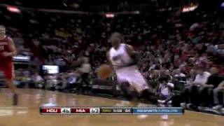 Miami heat vs houston rockets (99 - 66) february 9, 2010