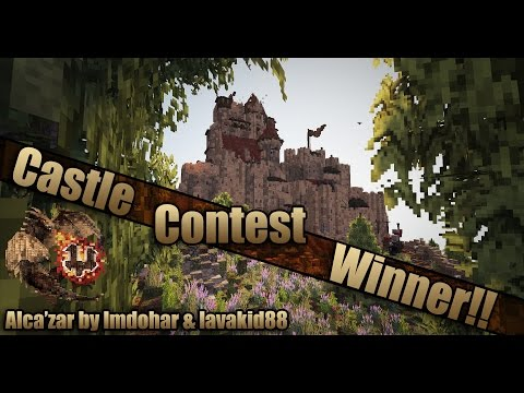 Epic Minecraft Castle! Alca'zar by lmdohar and lavakid88 - Castle Contest Winner
