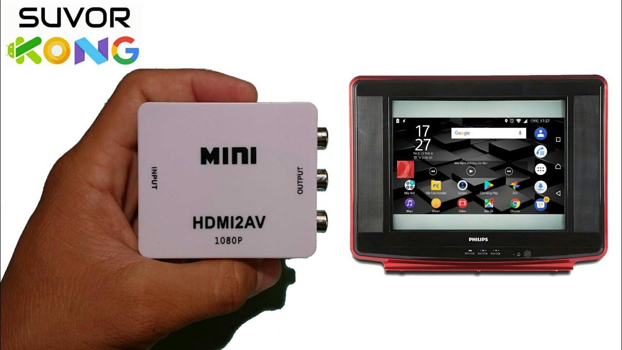 ĐT vỡ màn hình & liệt cảm ứng | Kết nối Android box với TV crt chỉ 175k