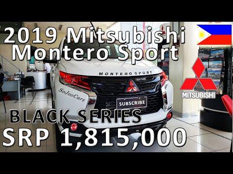 2019 Mitsubishi Montero Sport Black Series 4x2 GLS