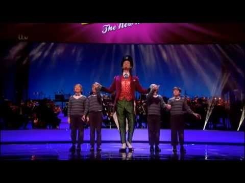 Olivier Awards - Charlie & The Chocolate Factory - Alex Jennings as Wonka