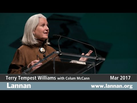 Terry Tempest Williams, Talk, 8 March 2017