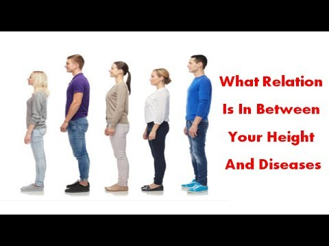 Height influences risk of cardiovascular disease, diabetes, and cancer