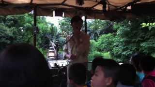 Jungle River Cruise Hong Kong Disneyland