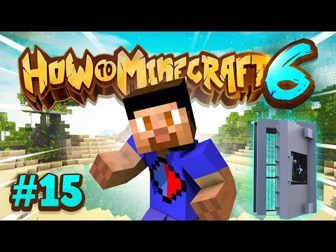 UNDERGROUND BASE BUILDING - How To Minecraft #15 (Season 6)