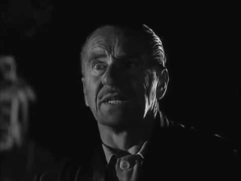 The Prowler  (1951)   The Shooting Scene.  Van Heflin ,