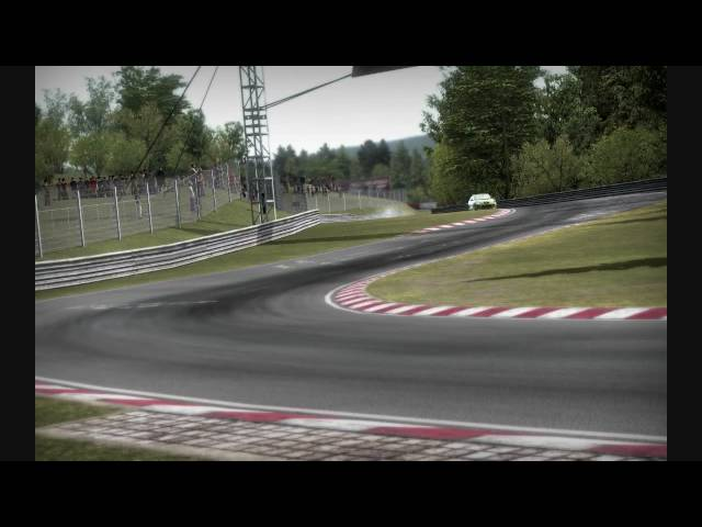 Need for Speed Shift - Nordschleife with Seat Cupra R [PC Gameplay]