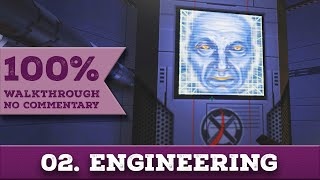 System Shock 2 Walkthrough (Impossible, All Collectibles) part 2 ENGINEERING