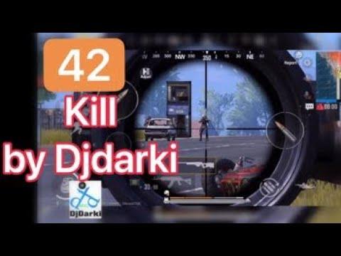Pubg mobile djdarki Gameplay | 42 kill