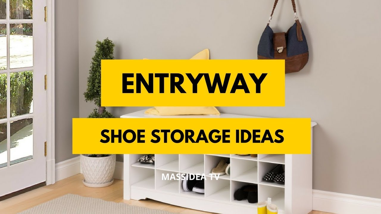 50+ Best Small Space Entryway Shoe Storage Ideas