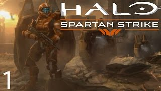 Halo: Spartan Strike Gameplay Walkthrough Operation Orphic Spear All Missions